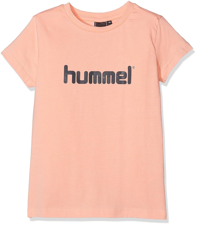 Hummel Mädchen Veni Ss Tee Ss17 T-Shirt Peach Nectar 140 HUMBC|#Hummel 19-115-3670