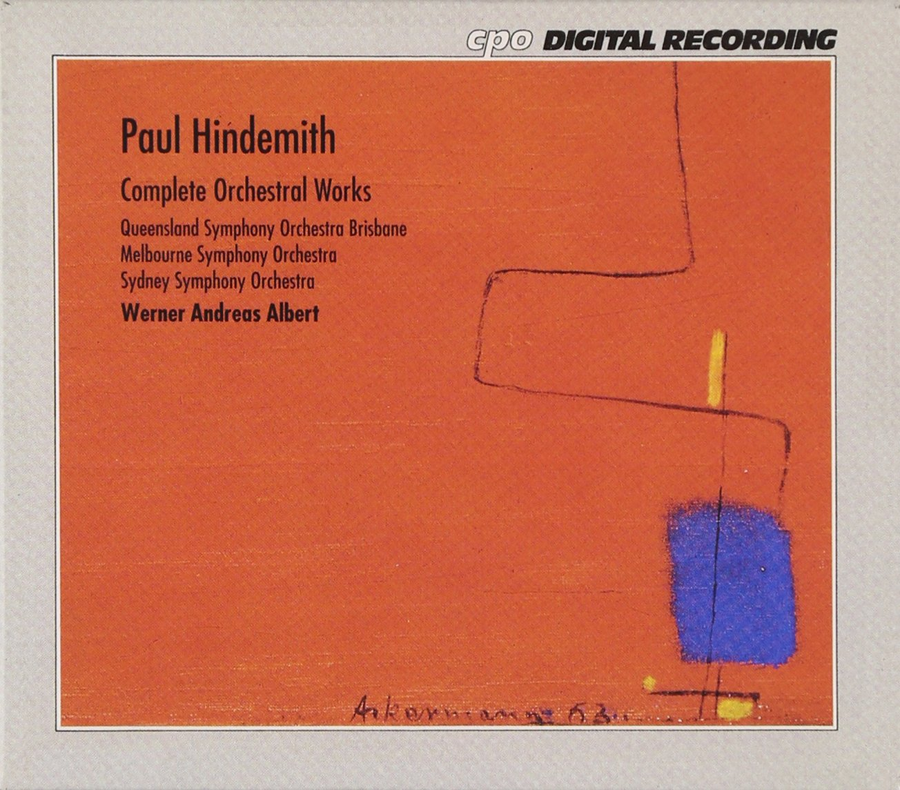 Hindemith: Complete Orchestral Works by CPO