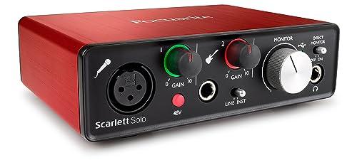 Focusrite Scarlett Solo – Miglior rapporto qualità prezzo