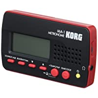 Korg MA1RD Multi-Function Digital Metronome - Black / Red