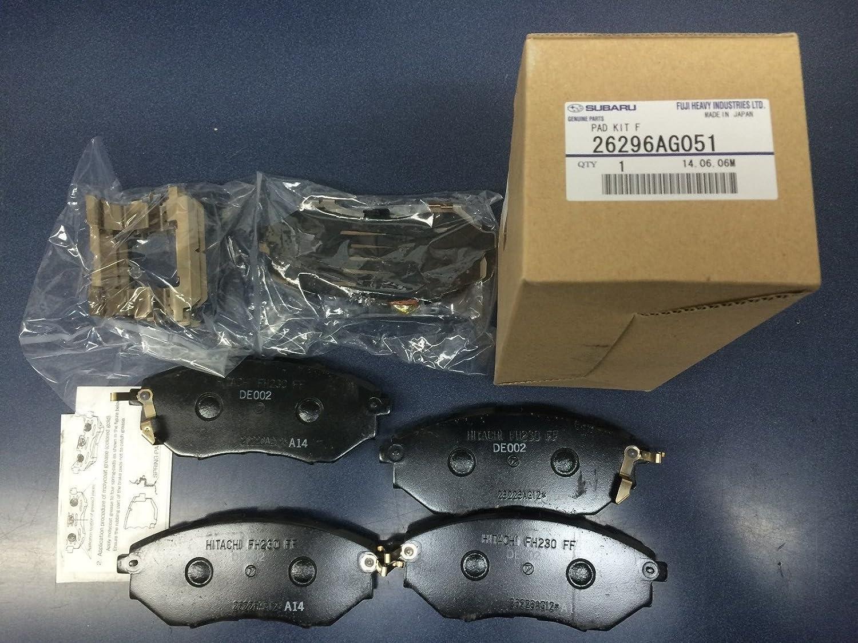 06 07 08 Fits Subaru Legacy 2.5i Max Performance Ceramic Brake Pads F