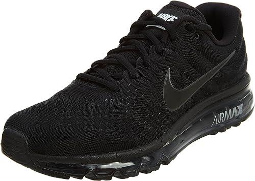 Municipios coro Transparente  Nike Air Max 2017, Scarpe da Trail Running Uomo, Nero (Black/Black/Black  004), 49.5 EU: Amazon.it: Scarpe e borse