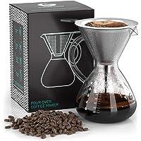 """Coffee Gator Cafetera de goteo""""Pour Over"""" manual"""