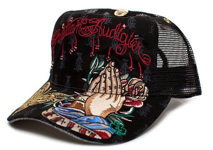 Christian Audigier Faith One-size Unisex-adult Truckers Cap Hat ... f7b94b8ac25