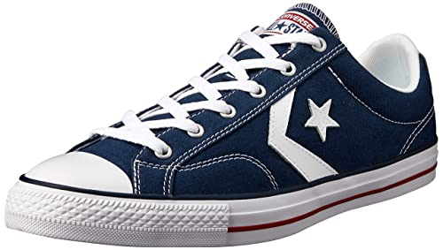 Confortable dark navy converse star player adulte core
