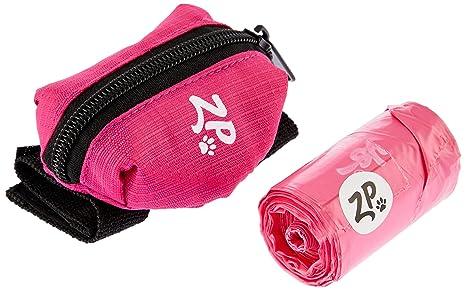 ZippyPaws perro caca bolsa soporte correa fijación (Hibiscus ...