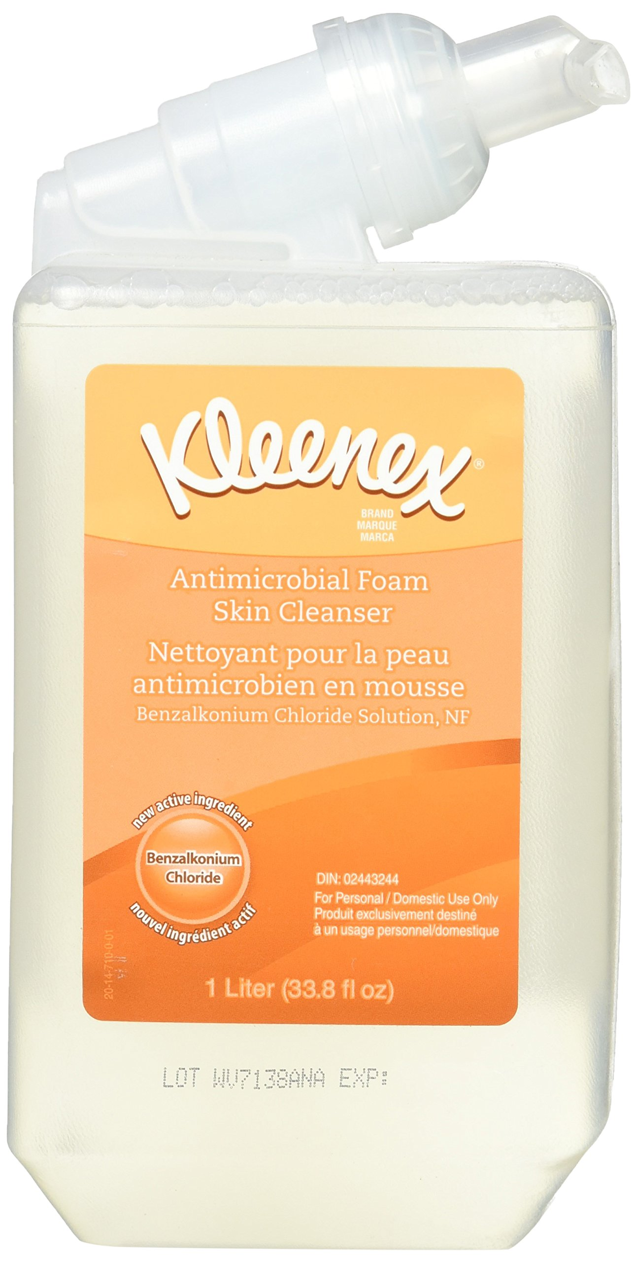 Kimberly-Clark Professional* - Kleenex Antibacterial Hand Cleanser Fresh 1000Ml Bottle ''Product Category: Breakroom And Janitorial/Hand Cleaners''
