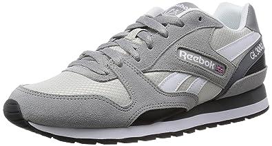 Reebok GL 3000, Zapatillas de Running para Hombre, Gris/Blanco / Negro (
