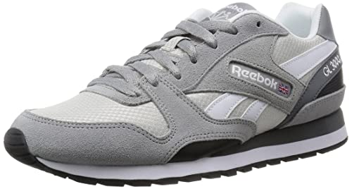Reebok GL 3000, Zapatillas de Running para Hombre, Gris/Blanco/Negro (Tin Grey/Steel/Alloy/White/Black), 40 1/2 EU: Amazon.es: Zapatos y complementos