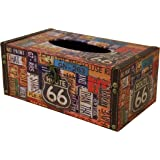 Carinas Collection Canadian License Plate Tissue Box