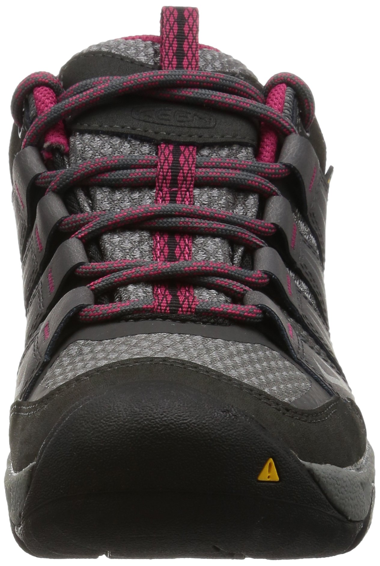 KEEN Women's Oakridge Waterproof Shoe, Magnet/Rose, 9 M US by KEEN (Image #4)
