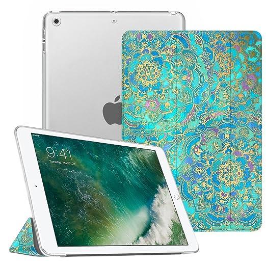 20 opinioni per Fintie Nuovo iPad 9.7 Pollici 2017 Cover- Ultra Sottile del Basamento Leggero