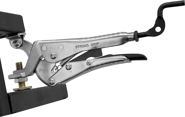 Herramientas de mano resistentes, alicates Expand-O, 16,5 cm, pinzas de sujeción de acción inversa, presión de sujeción: 227 kg, mín.: 25 mm, máx. 45 mm, PE6