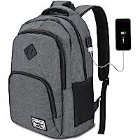 HASAGEI Zaino per Computer,Unisex Laptop Zaino Portatile da 15.6 Pollici Business Zaino con Porta USB Scuola Zaino …