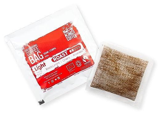 Bolsas de café recién molidas - Fairtrade, orgánico, único origen, 100% arábica (Decaf Roast - San Ignacio, Perú, América del Sur, Paquete de muestra de 4 ...