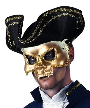 Boland 00384 - Máscara Hombre del pirata de Venecia, con sombrero, un tamaño,