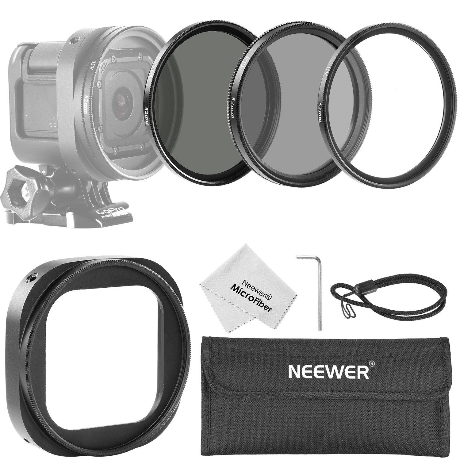 Neewer 52MM Filter GoPro Session Image 1