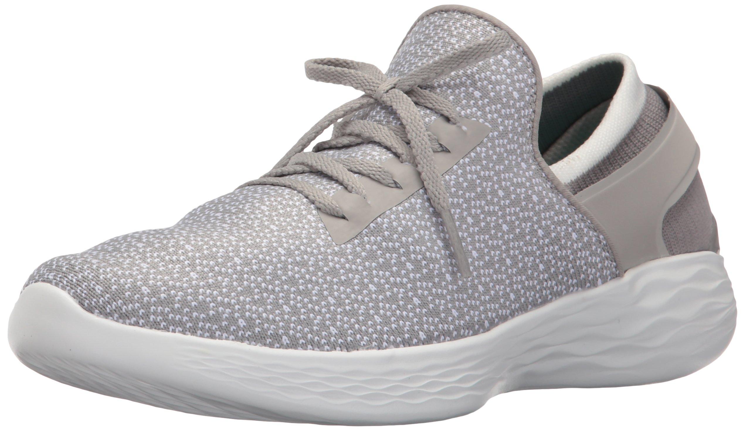 Skechers Women's You Inspire Slip-On Shoe,Gray,7.5 M US