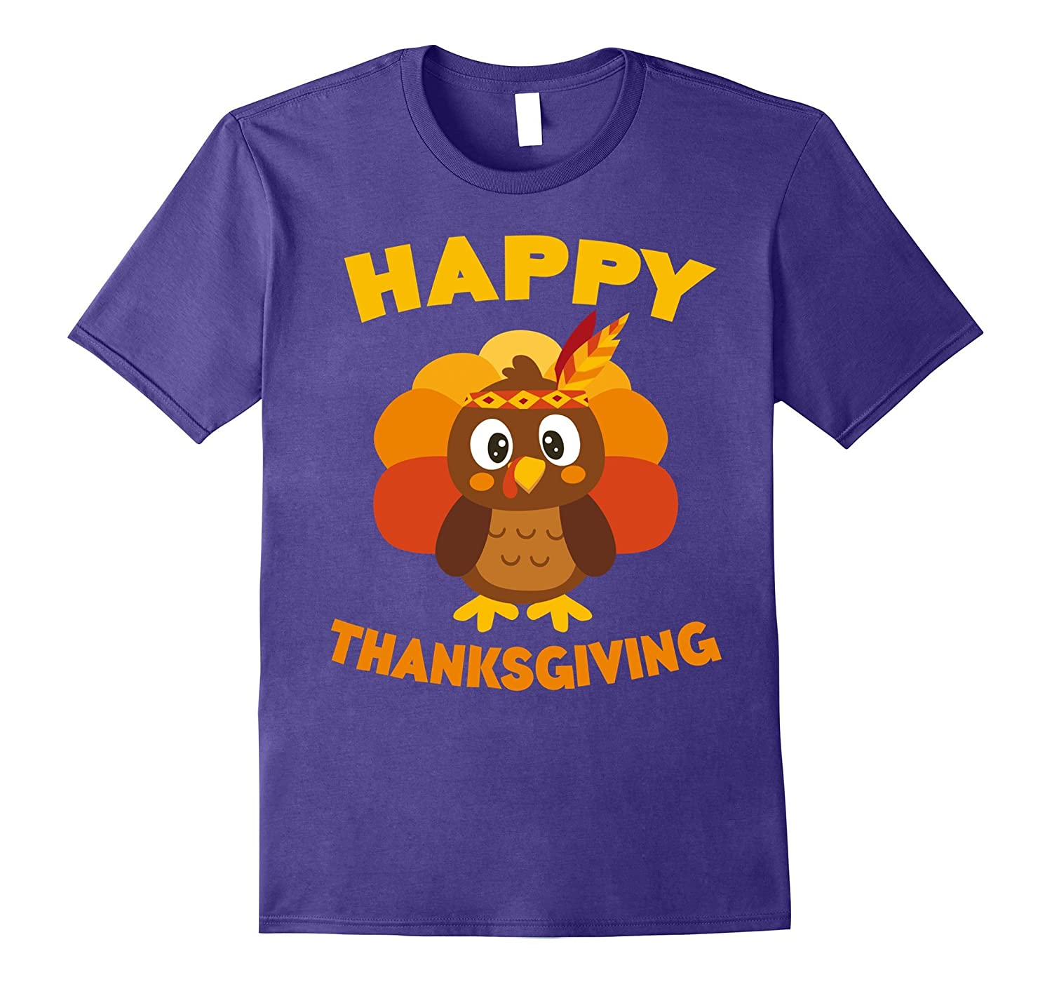 Happy Thanksgiving T Shirt Turkey Day-Tovacu