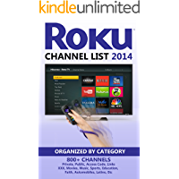 Roku Channel List 2014