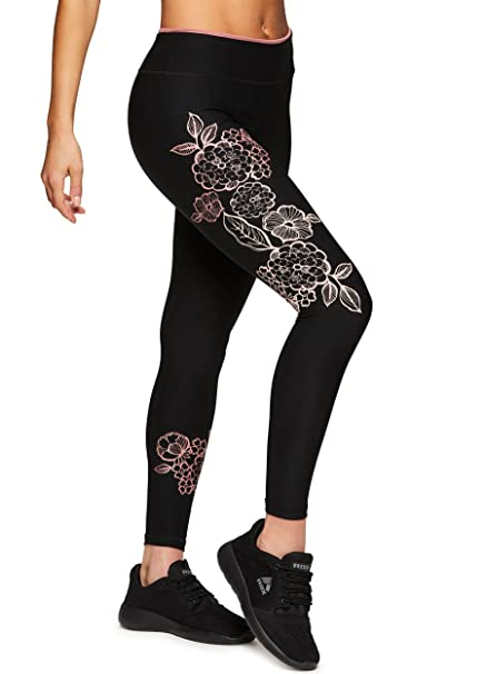 9aac4c08181 RBX Active Women s Workout Yoga 7 8 Ankle Legging with Side Detail ...