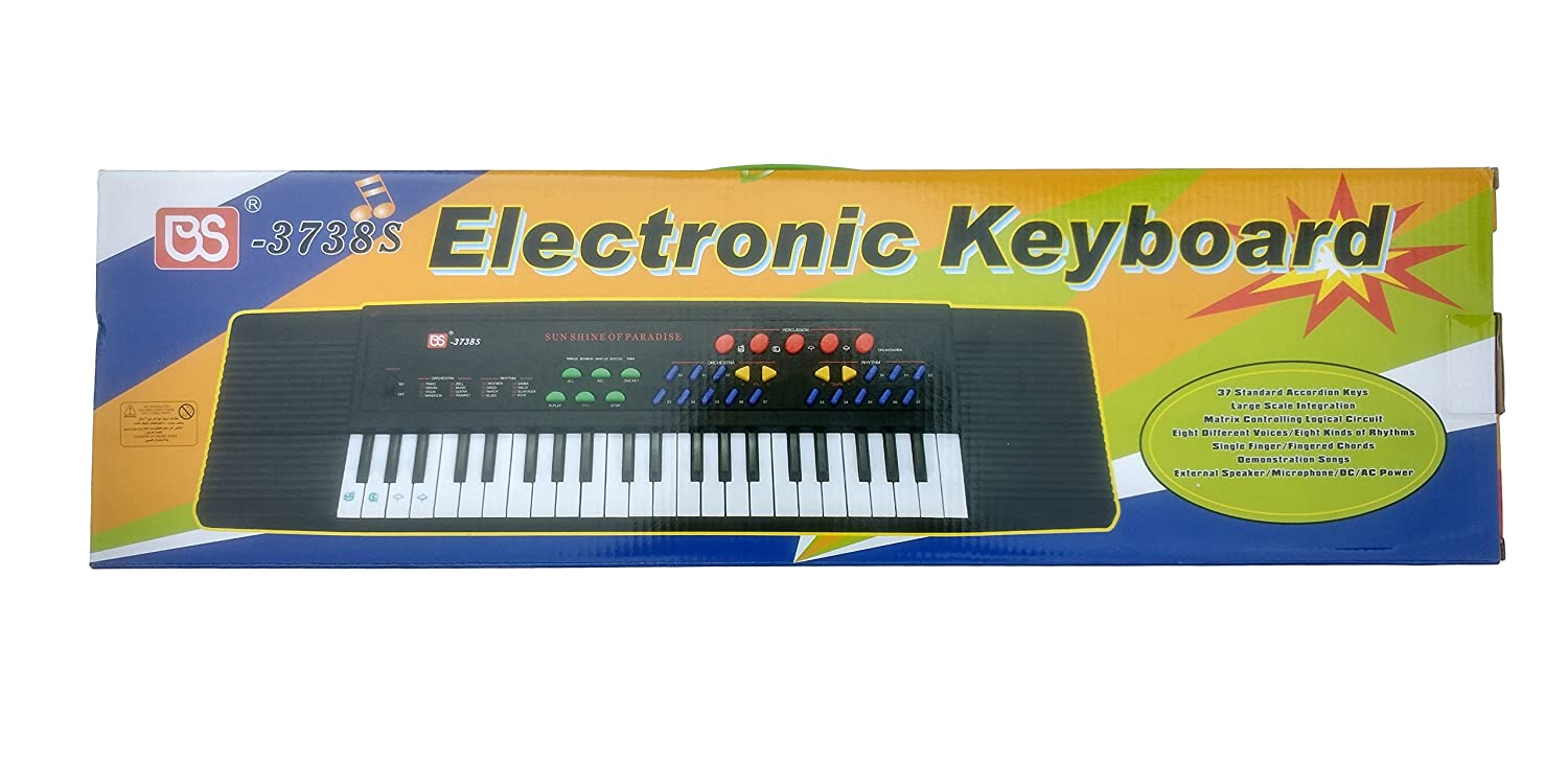 Buy Sun Shine Electronic Piano Keyboard Toy With Dc Power Option Circuit Recording Mic And Charger Online At Low Prices In India