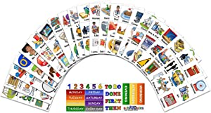 SchKIDules 153 Pc Complete Collection Combo Pk for Visual Schedules, Kids Calendars and Behavior Charts: 132 Home, School and Special Needs Themed Activity Magnets Plus 21 Headings Magnets (2nd Ed)