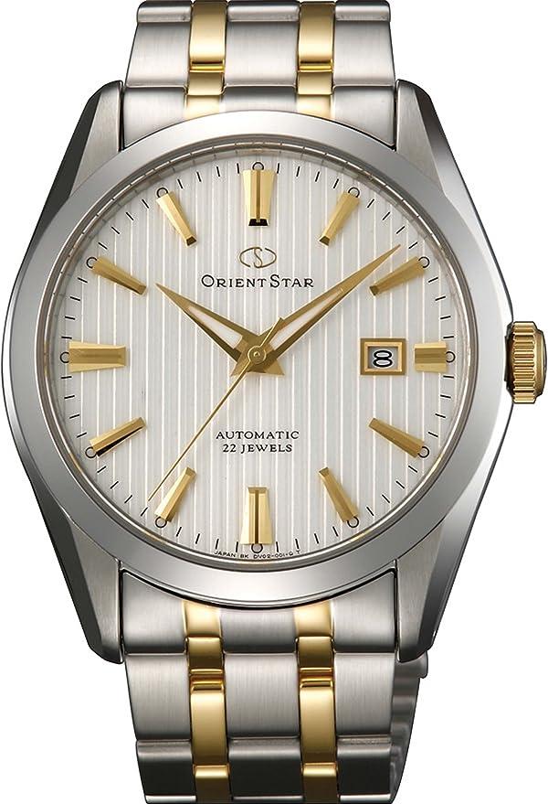 [オリエント時計] 腕時計 オリエントスター 自動巻き SARコーディング サファイアガラス WZ0071DV シルバー