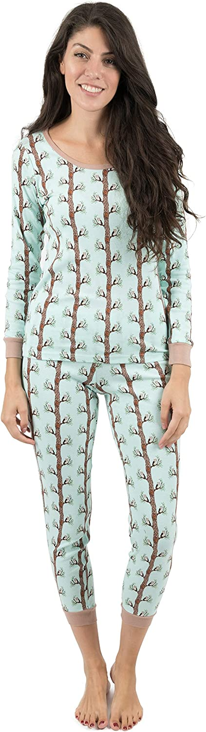 Leveret Womens Pajamas 2 Piece Pajama Set 100% Cotton Size X-Small-X-Large
