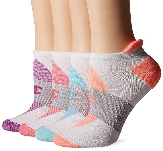 0f3603dffcf Champion Women s Double Dry 4-Pack Performance Heel Shield Socks ...