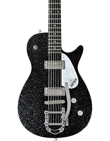 Gretsch G5265 Electromatic Jet Baritone Electric Guitar - Black Sparkle