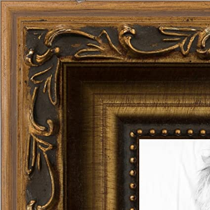 Amazon Arttoframes 12x17 Inch Ornate Gold Wood Picture Frame