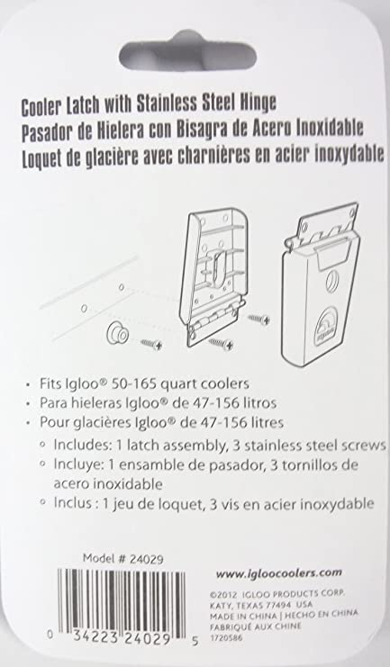 Amazon Igloo Hybrid Stainless And Plastic Latch 338 L X 057