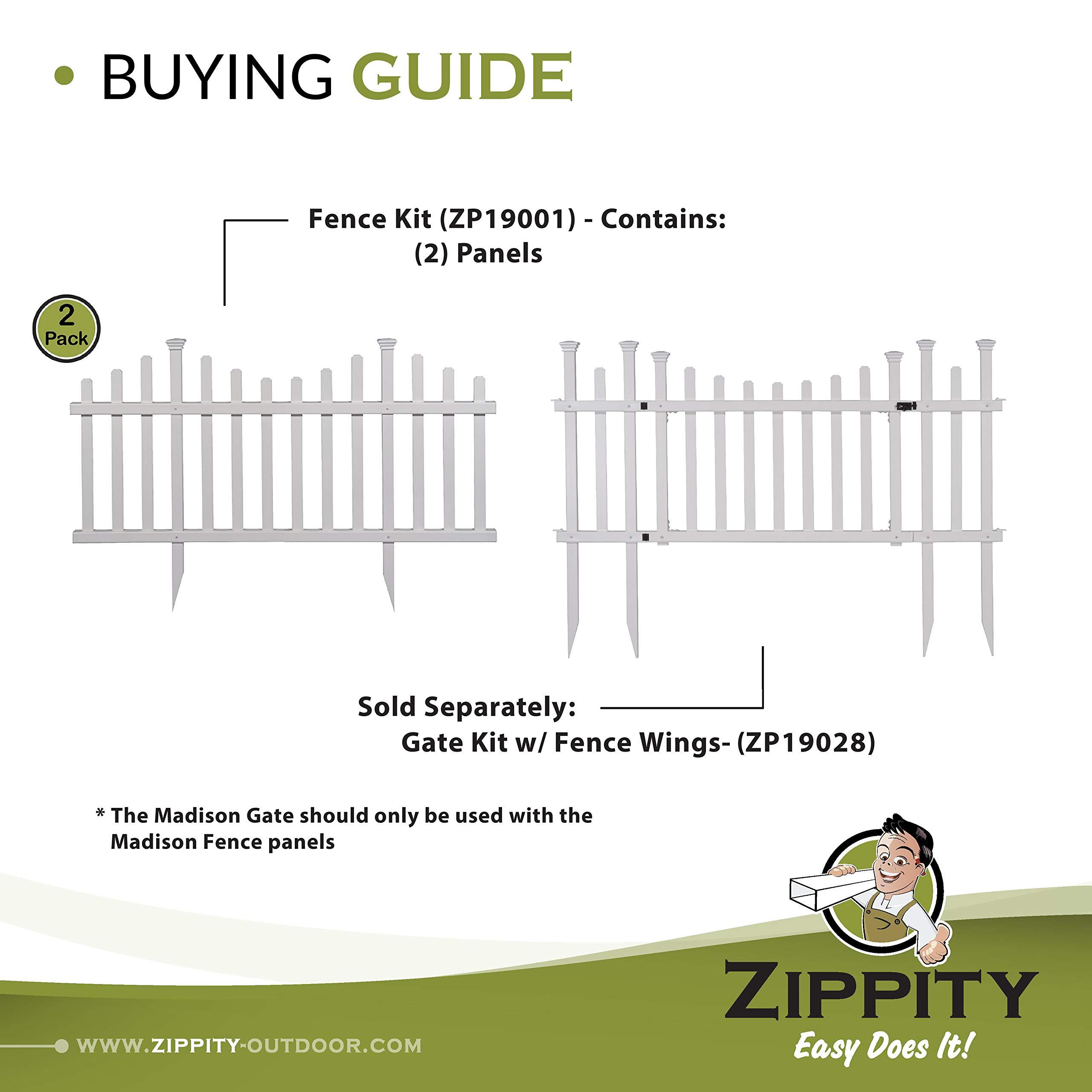 Zippity Garden Fence Frontyard Outdoorhouseplan Com