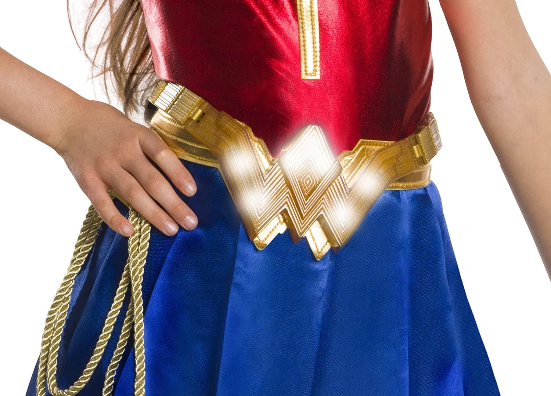 Brand New Justice League Movie Wonder Woman Child Light-Up Gauntlets