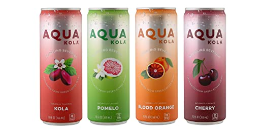 Amazon com : AquaKola Pomelo Sparkling Beverage 12/pk case