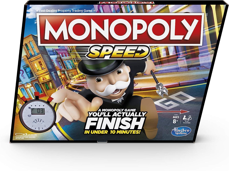Monopoly Speed Board Game: Amazon.es: Juguetes y juegos