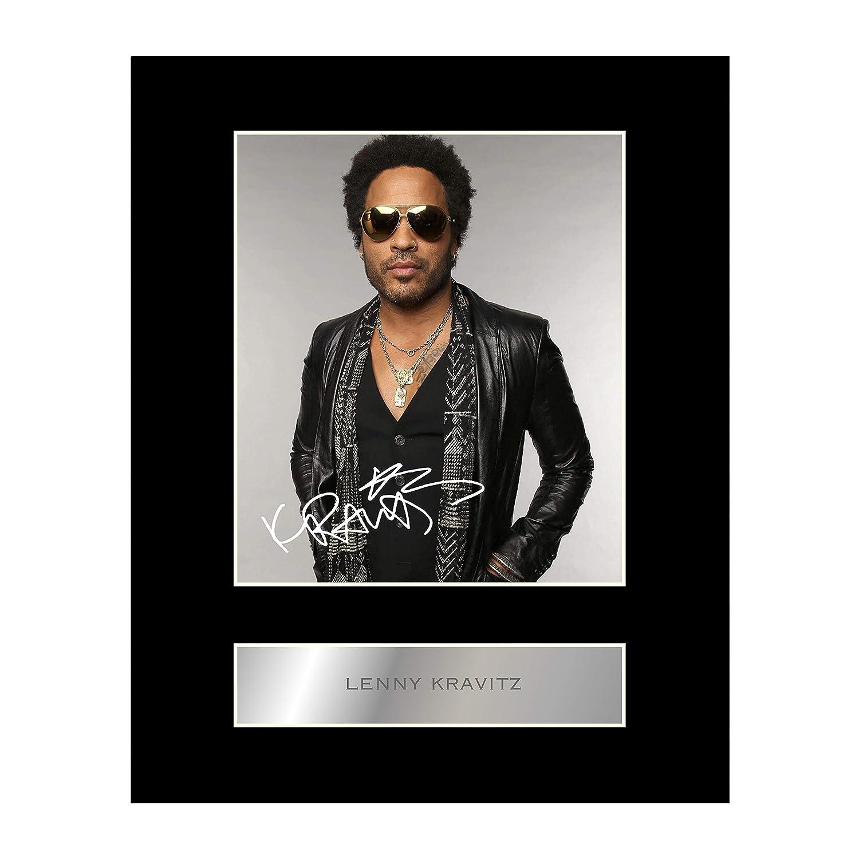 Lenny Kravitz, con autografo Iconic pics