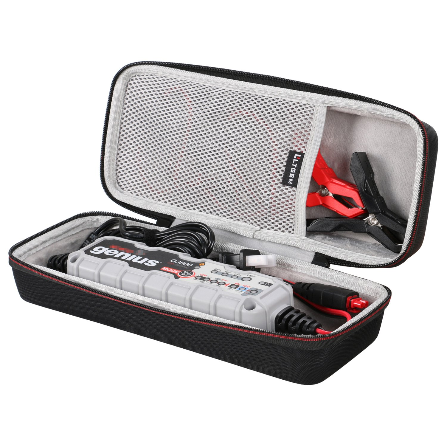 LTGEM EVA Hard Carrying Case Compatible with NOCO G7200 Vehicle Battery Charger