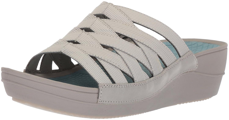 BareTraps Women's Beverly Slide Sandal B075X615Z9 8 B(M) US|Grey