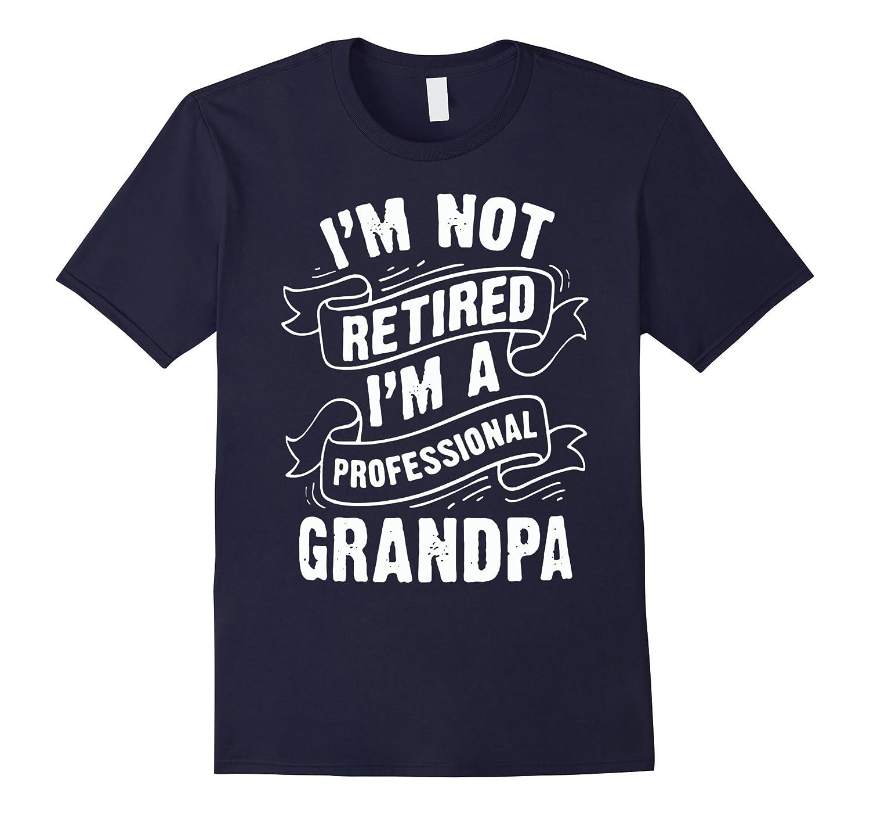 I'm Not Retired I'm A Professional Grandpa, Grandpa T shirt
