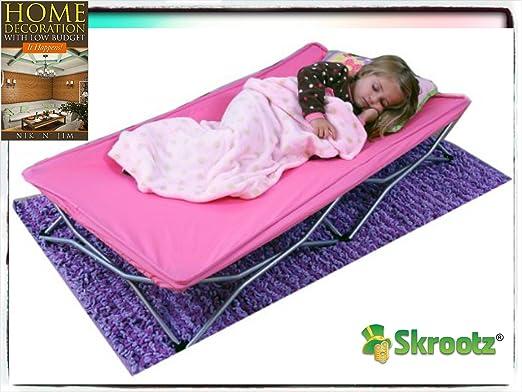 Amazon.com: Kids para viaje cama infantil Cuna portátil ...