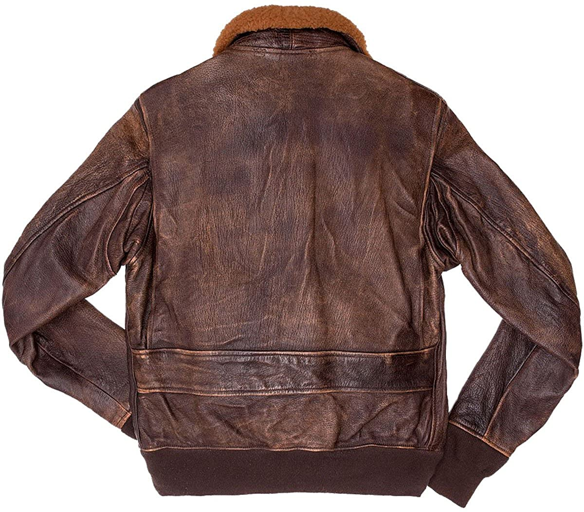 Amazon.com: III-Fashions G1 - Chaqueta de piel para hombre ...