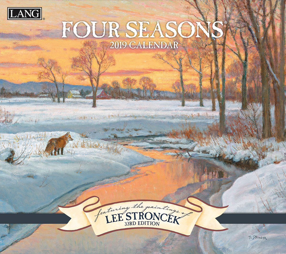 The Lang Companies 19991001911 Four Seasons 2019 Full Sized Wall Calendar Premier Gift Limited