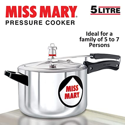 7ad31f78daf Buy Hawkins Miss Mary Aluminium Pressure Cooker