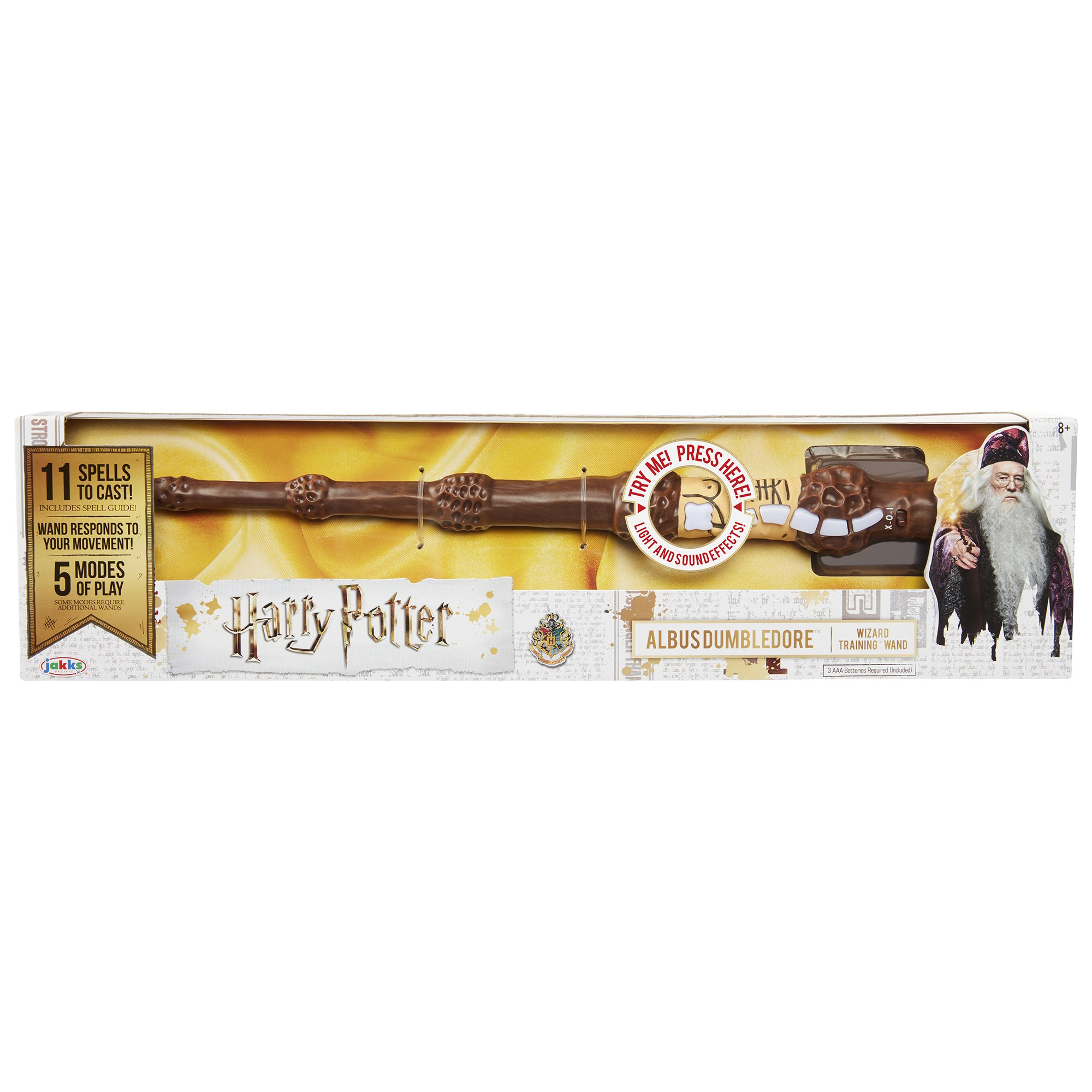 Harry Potter, Albus Dumbledore's Wizard Training Wand - 11 Spells to CAST!