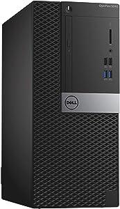 Dell OptiPlex 5040 Mini Tower, Intel Core 6th Generation i5-6500, 4 GB DDR3L, 500 GB HDD, AMD Radeon R5 340X, Windows 10 Pro (Renewed)