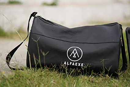83bd54a368f ALFAEXE Classic Waterproof Sports Gym   Travel Bag for Casual ...