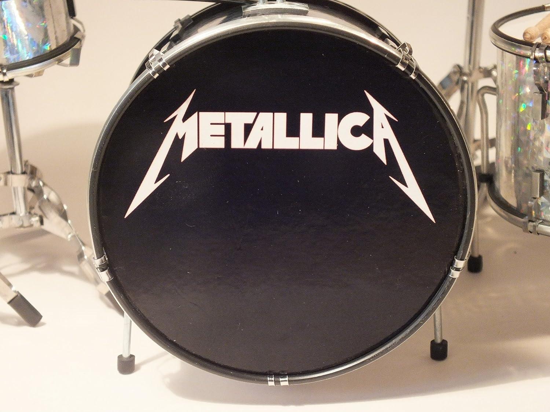 RGM347 Lars Ulrich Metallica Kit de batería en Miniatura: Amazon.es: Electrónica