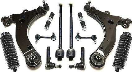PartsW - Kit de suspensión trasera y delantera para Chevrolet ...